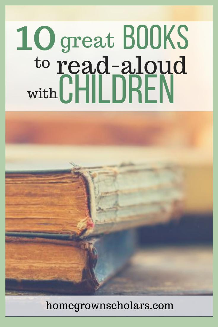 10 Great Books to Read-Aloud with Children