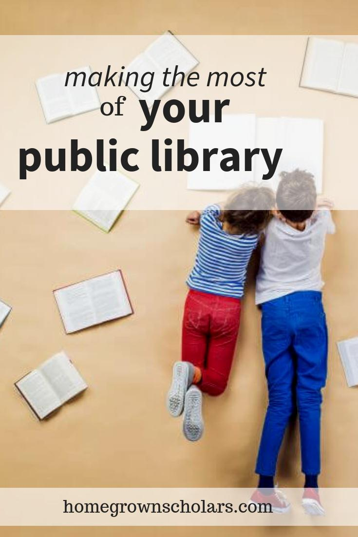 Making the Most of Your Public Library