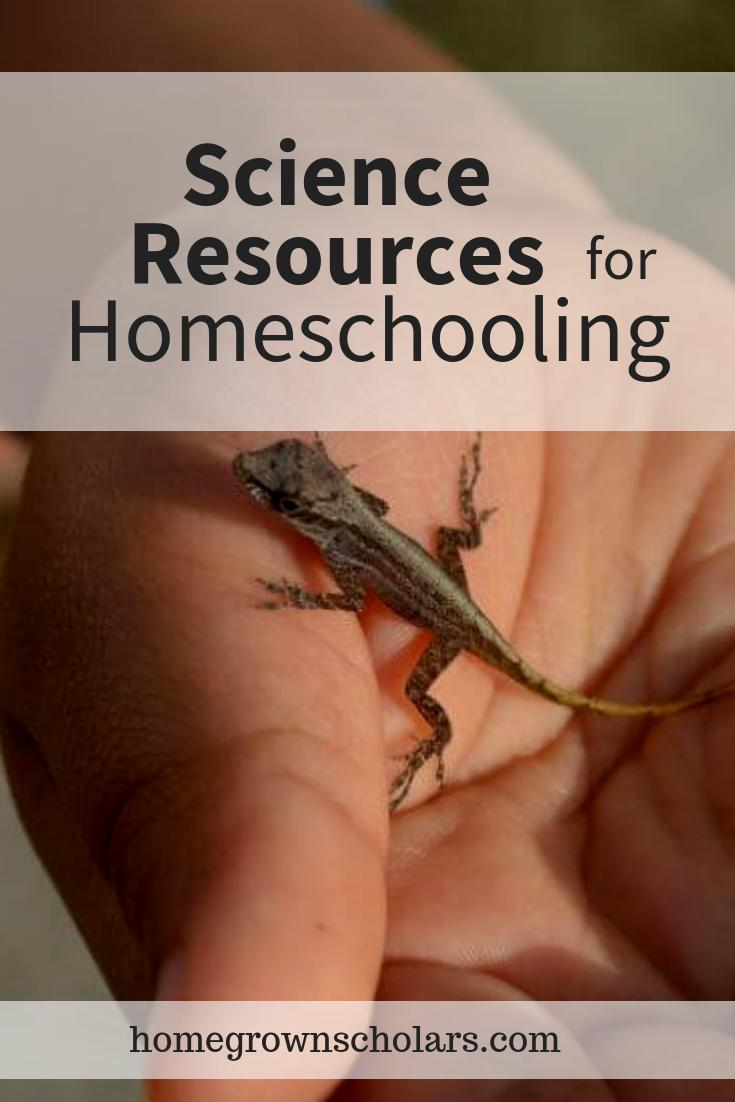 Science Resources for Homeschooling
