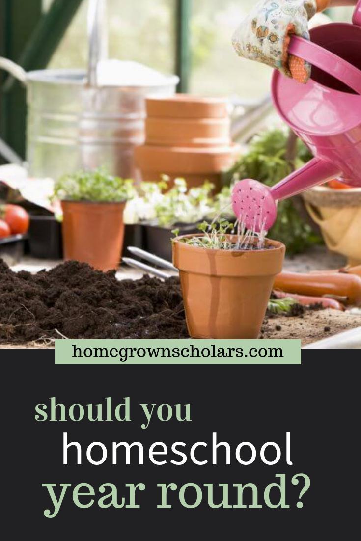 Should You Homeschool Year Round?