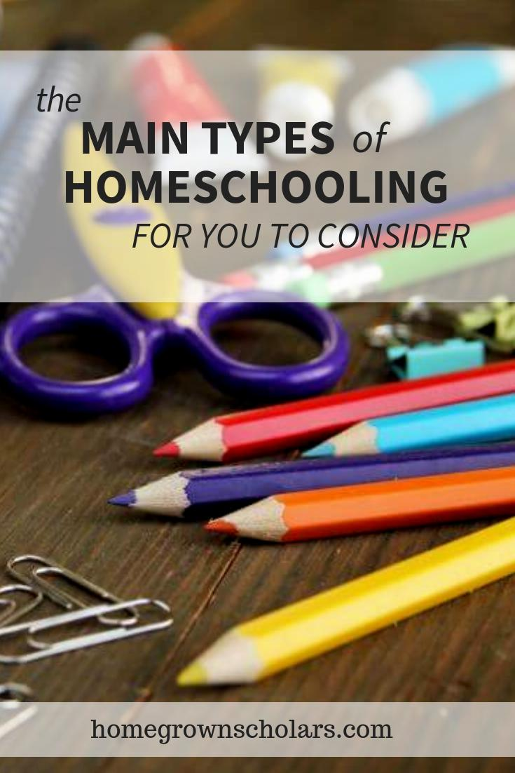 The Main Types of Homeschooling For You to Consider
