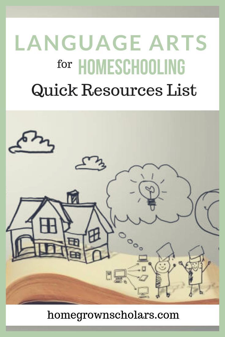 Language Arts - Quick Resources List