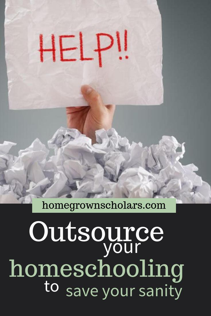 Outsource Your Homeschooling to Save Your Sanity