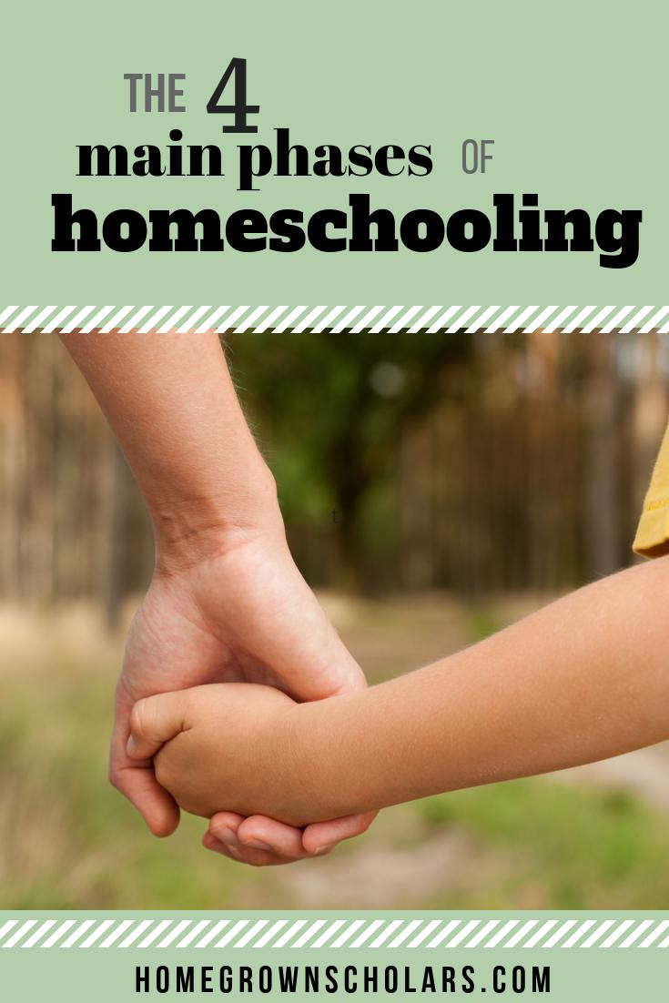 The 4 Main Phases of Homeschooling