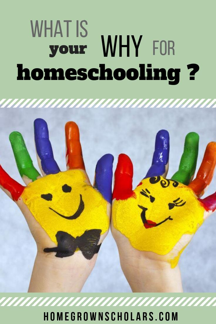 What is Your WHY for Homeschooling?