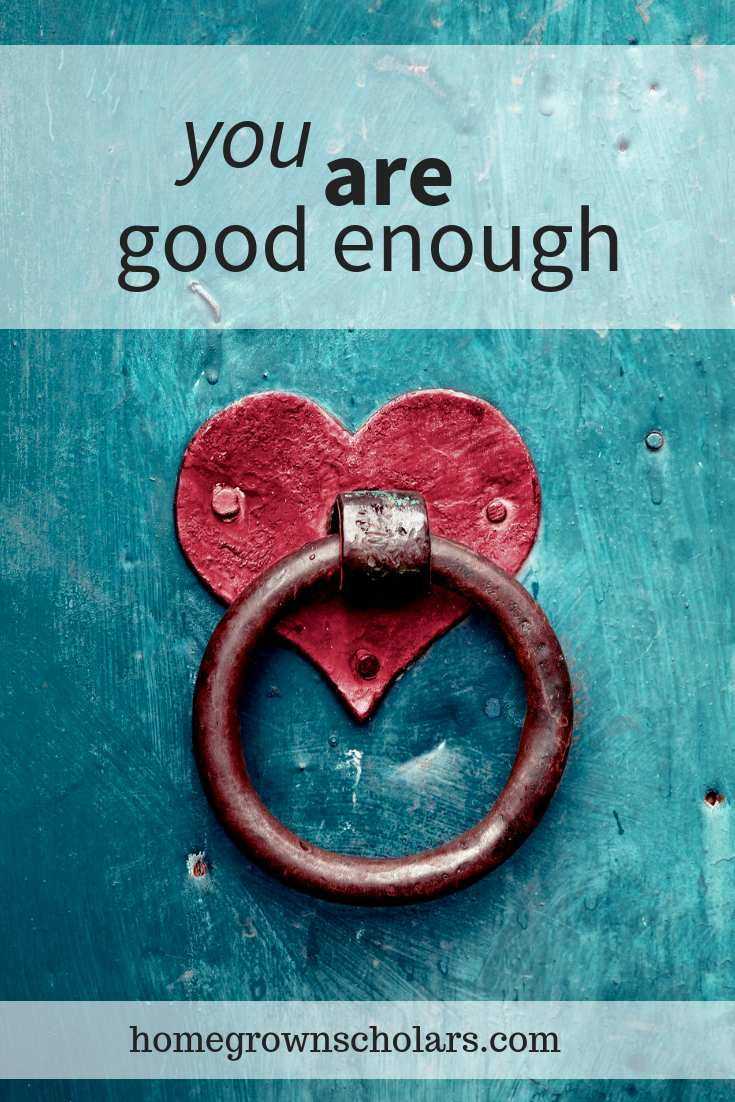 What to do when you feel like you aren't good enough