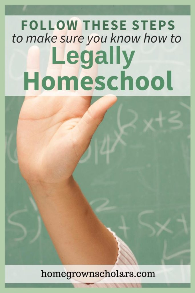 How to Cover all of Your Homeschooling Legal Bases