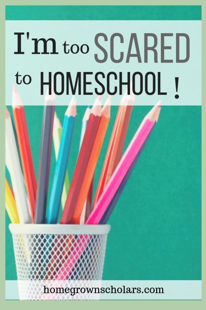 I'm Too Scared to Homeschool!
