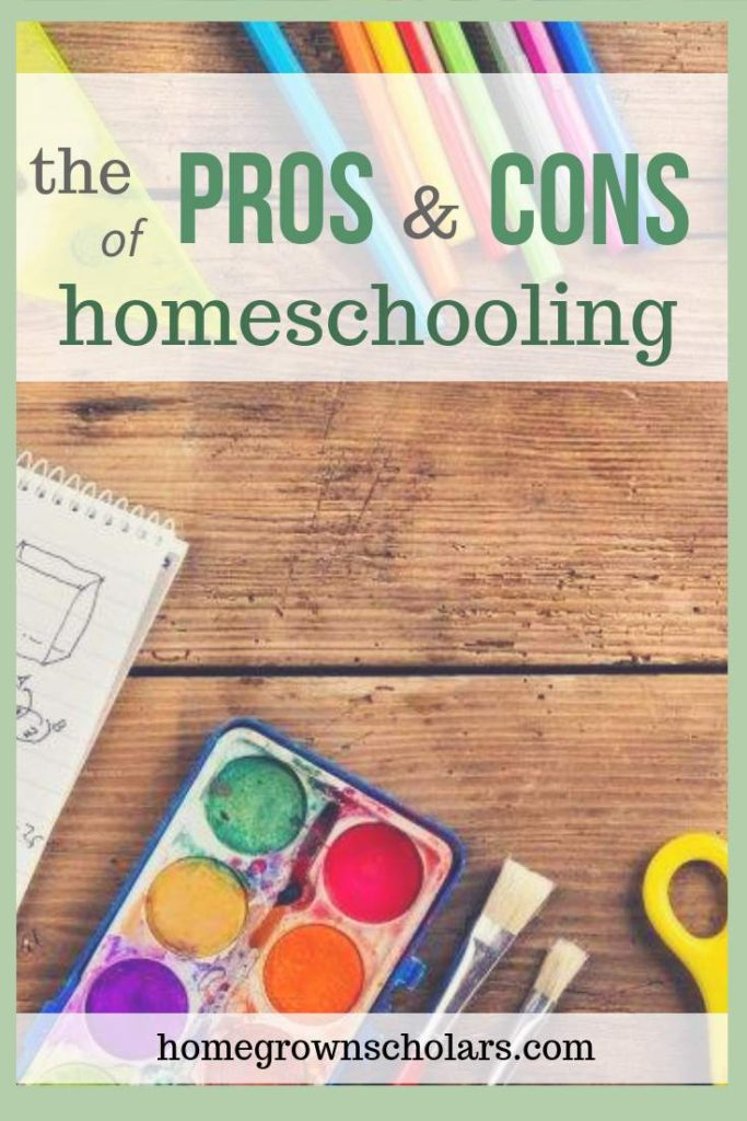 The Pros & Cons of Homeschooling